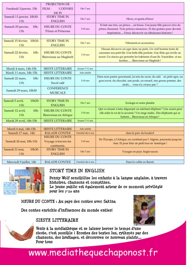 programme animation 2014 verso ltle
